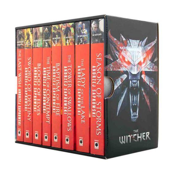 مجموعه 8 جلدی رمانهای The Witcher